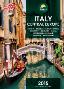 TEMPO HOLIDAYS 2015 Italy & Central Europe Brochure