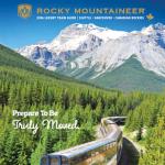 ROCKY MOUNTAINEER 2016 (Brochure)