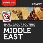 BUNNIK TOURS MIDDLE EAST 2016-17 SMALL GROUP TOURING (BROCHURE)