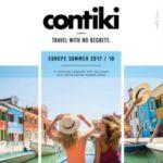 CONTIKI EUROPE SUMMER 2017-18 (BROCHURE)
