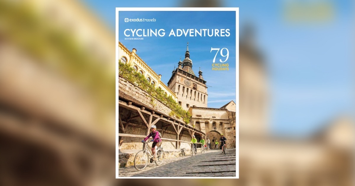 Exodus Travels Cycling Adventures 2017-2018 brochure