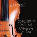 PONANT 2016-2017 MUSICAL ODYSSEYS AT SEA (BROCHURE)