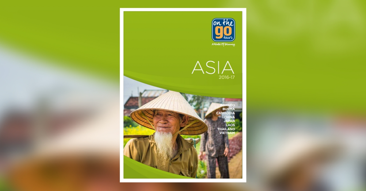 On The Go Tours Asia 2016-17 brochure
