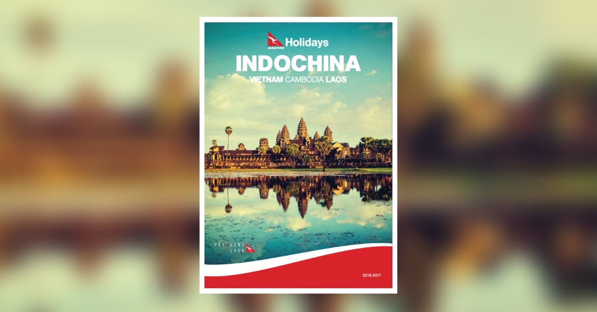 Qantas Holidays Indochina 2016-2017 brochure