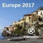 G ADVENTURES EUROPE 2017