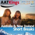 AAT KINGS AUSTRALIA & NEW ZEALAND SHORT BREAKS 2017-2018 (BROCHURE)