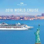 PRINCESS CRUISES 2018 WORLD CRUISES (BROCHURE)