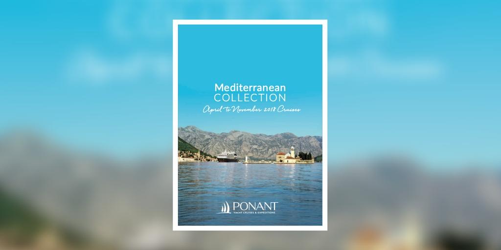 Ponant Mediterranean Collection 2018 Brochure