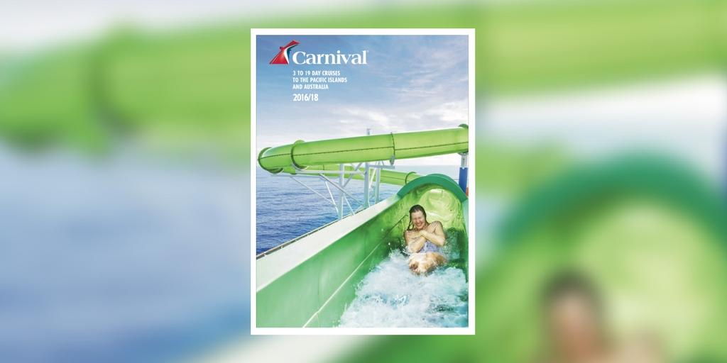 Carnival Cruises Pacific Islands Amp Australia 2016 18 Brochure