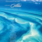 OCEANIA CRUISES VOYAGE ATLAS 2017-2018 (BROCHURE)