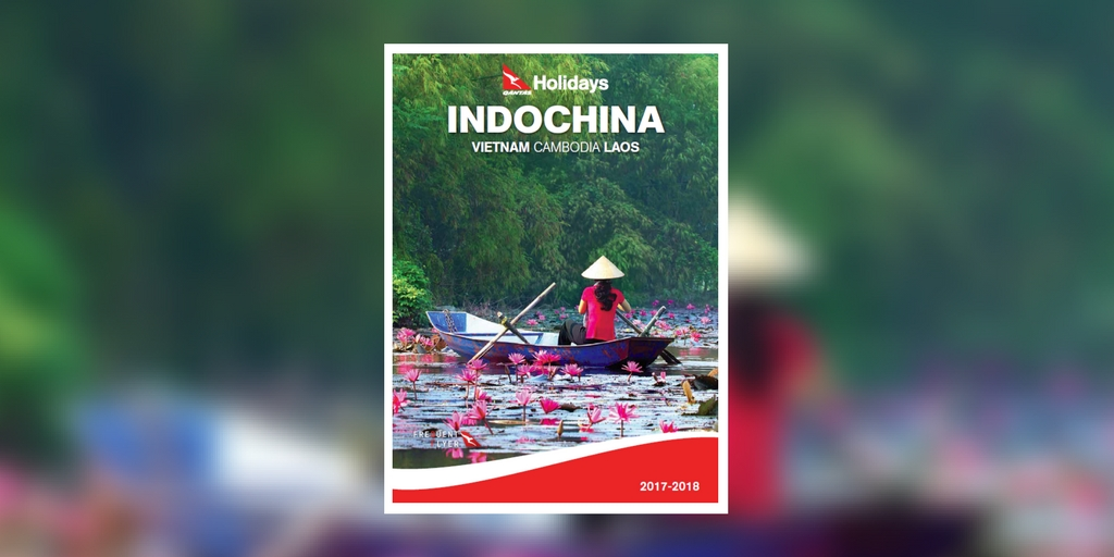 Qantas Holidays Indochina 2017-2018 brochure