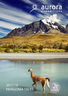 Aurora Expeditions Patagonia Trek 2017-18