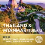INSIDER JOURNEYS THAILAND & MYANMAR 2017-18 (BROCHURE)