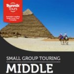 BUNNIK TOURS MIDDLE EAST 2017-18 (BROCHURE)