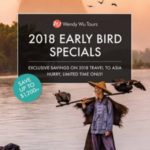WENDY WU TOURS 2018 EARLY BIRD SPECIALS (BROCHURE)