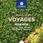 AZAMARA CLUB CRUISES IMMERSIVE VOYAGES 2018-2019 (BROCHURE)