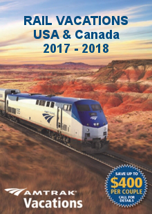 amtrak vacations 2017 2018 rail vacations brochure