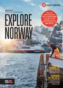 Hurtigruten Explore Norway 2018-2019