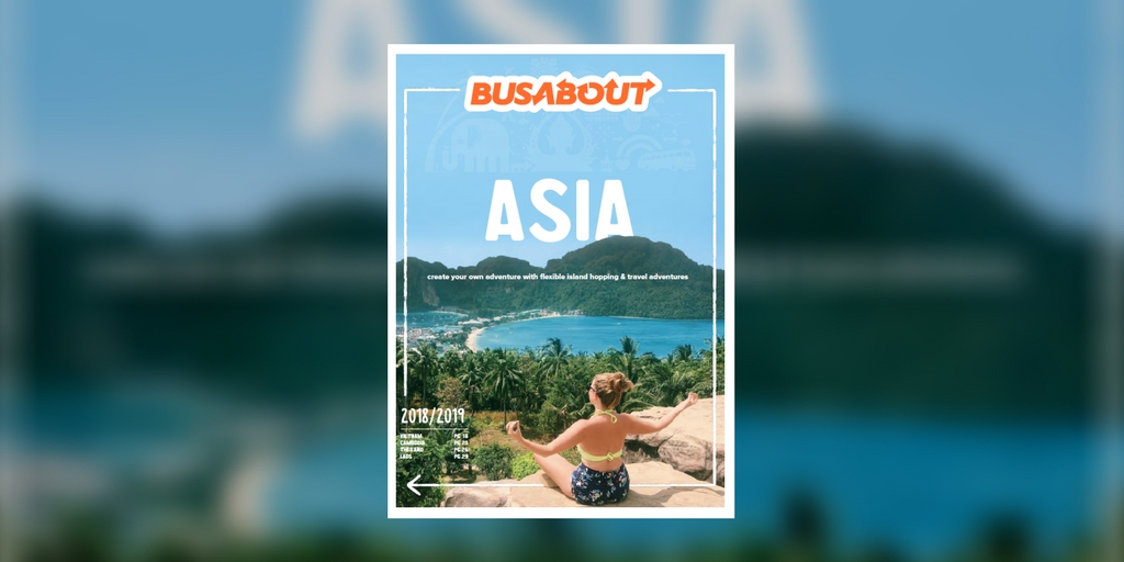 Busabout Asia 2018-2019 brochure
