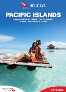 qantas holidays pacific islands 2018 2019 brochure. Black Bedroom Furniture Sets. Home Design Ideas