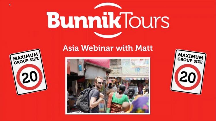 BUNNIK TOURS ASIA 2018-19
