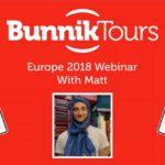 BUNNIK TOURS EUROPE 2018