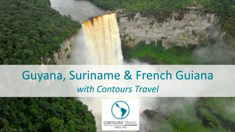 CONTOURS TRAVEL – GUYANA, SURINAME & FRENCH GUIANA