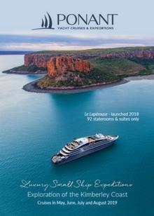Ponant Exploration of the Kimberley Coast 2019