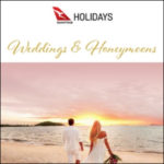 QANTAS HOLIDAYS WEDDINGS & HONEYMOONS 2018-2019 (BROCHURE)