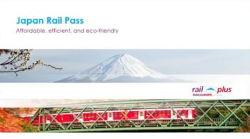 JAPAN RAIL PASS WITH RAIL PLUS