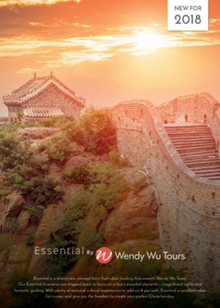 Wendy Wu Tours Essential 2018